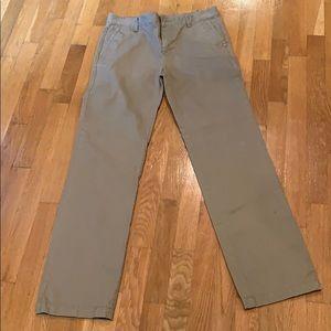 Nordstrom Boys khaki/chino pants size 20